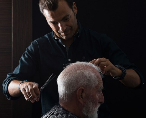 Peluqueria xabia cortar pelo hombre